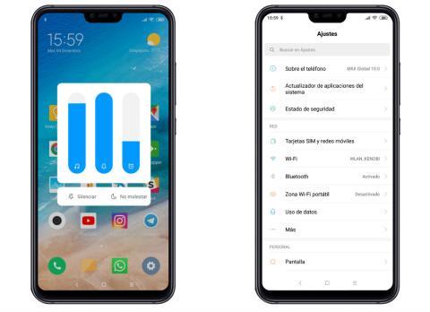 MIUI 10 en Xiaomi Mi 8 Lite