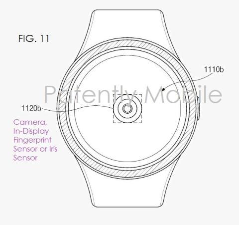 patente samsung galaxy watch