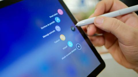 Samsung Galaxy Tab S4 Air Command