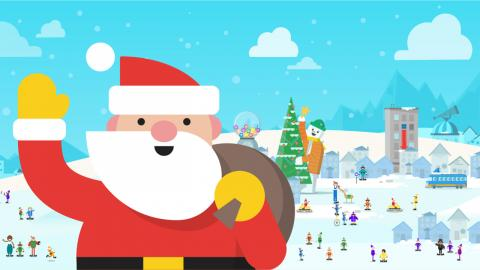Santa Claus Google Assistant
