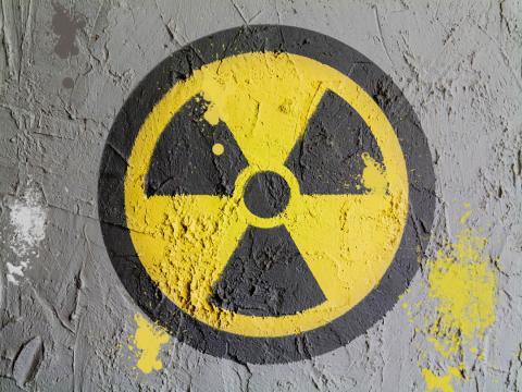 Símbolo de radiación nuclear