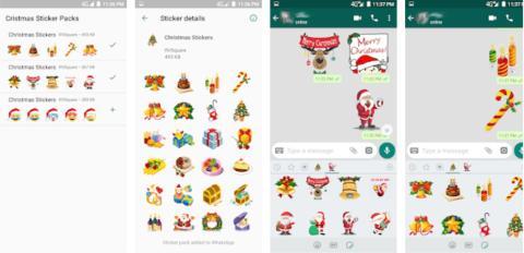 Stickers navidad WhatsApp