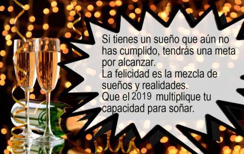 Tarjetas y postales con felicitaciones de Fin de Año 2018-2019