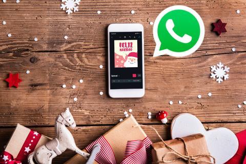Felicitaciones Escritas De Navidad.Como Crear Tus Felicitaciones De Navidad Para Whatsapp