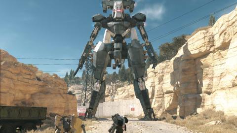 Metal Gear Cañón electromagnético