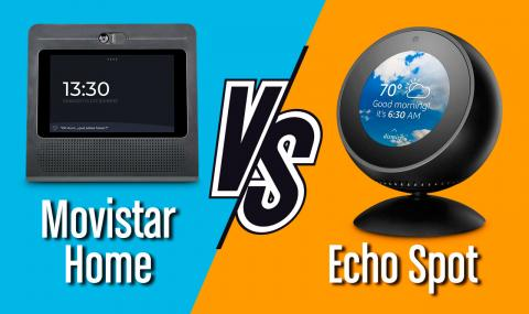 Comparativa Movistar Home vs Echo Spot