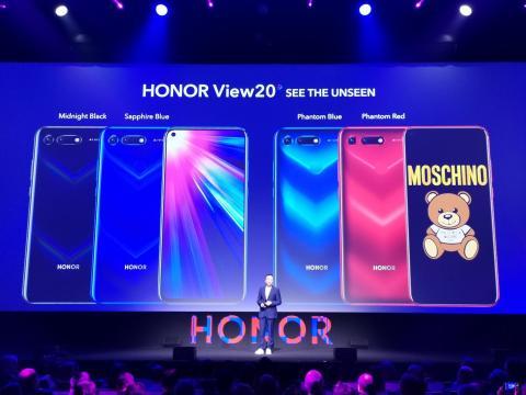 modelos y colores Honor View 20