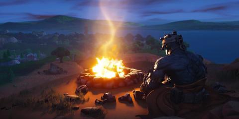 Rey de fuego Fortnite