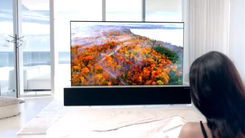 LG televisor enrollable