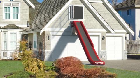 Escaleras de incendios hinchables