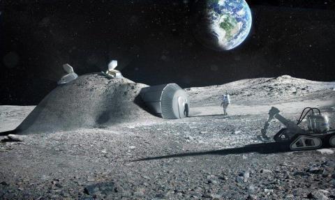 Europa en la Luna