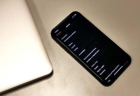 Modo noche iPhone