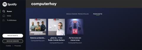 Podcast de ComputerHoy.com en Spotify