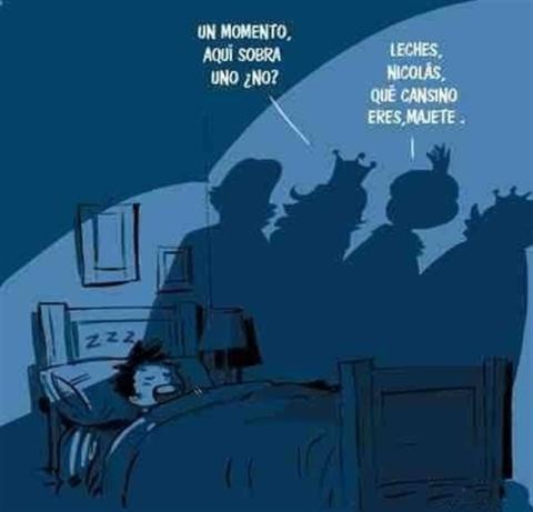 Memes noche de reyes