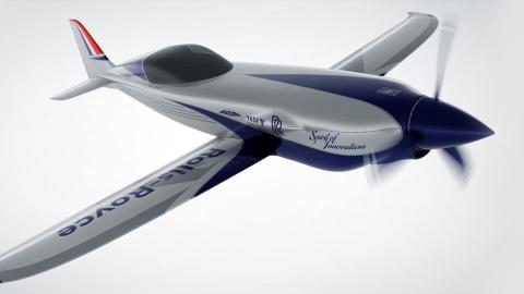 Avión Rolls Royce