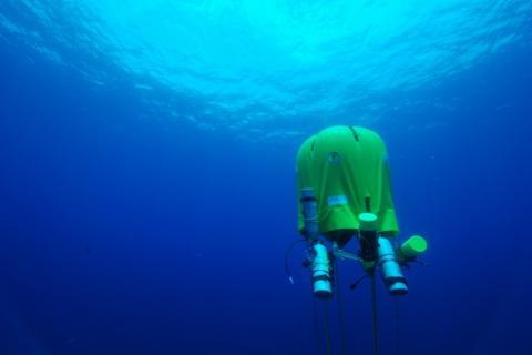 Tienda de campaña submarina