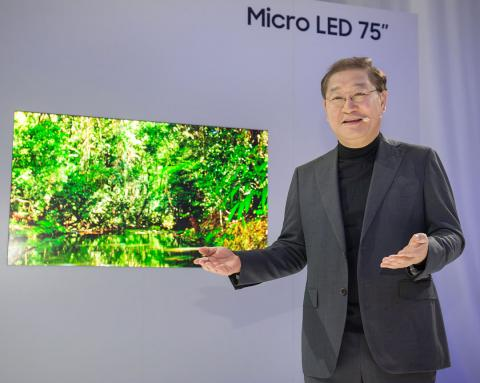 tv micro led samsung