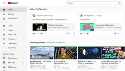 Publicaciones de comunidad Youtube