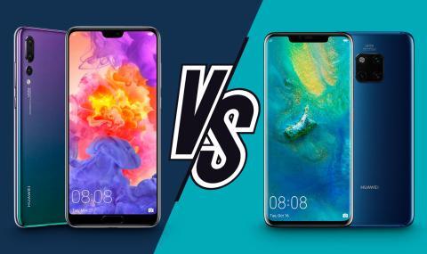Huawei P20 Pro vs Mate 20 Pro