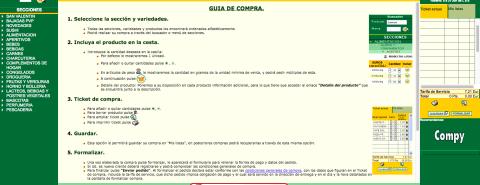 Antigua Web Mercadona
