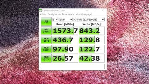 Benchmarks Surface Laptop 2