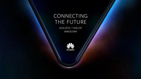Móvil flexible Huawei