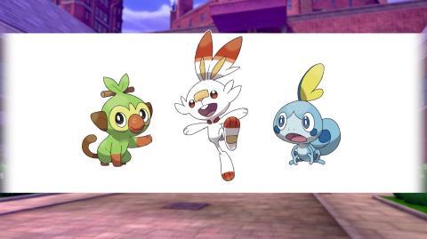 Pokémon Espada Escudo iniciales
