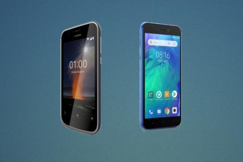Nokia 1 Plus vs Redmi GO