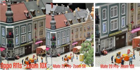 Zoom 10X Oppo vs Mate 20 Pro