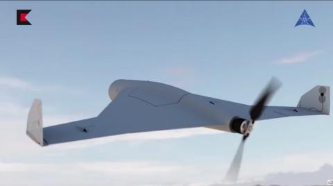 Dron kamikaze