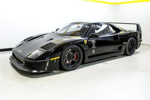 Ferrari F40 de Gas Monkey Garage
