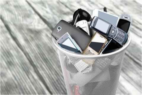 reciclar tecnología