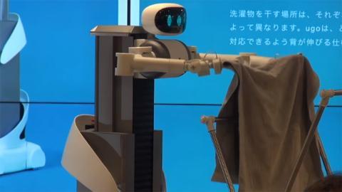 Robot que dobla la ropa