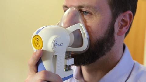 Máscara para detectar el cáncer