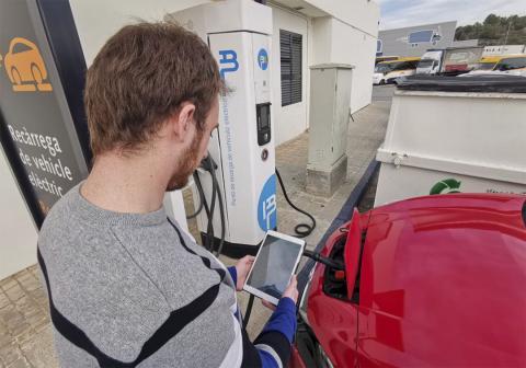 Puntos de carga para el coche eléctrico