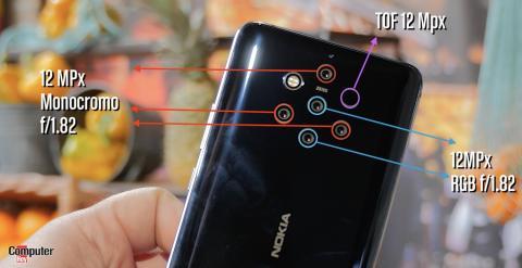 Sensores Nokia Pureview