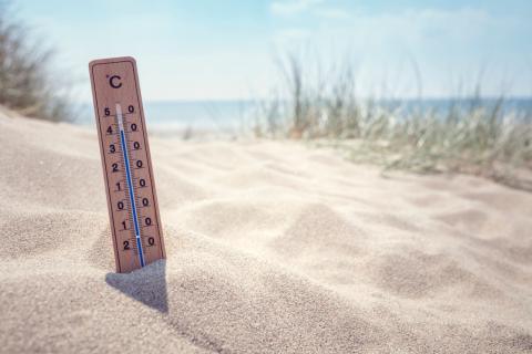 Termómetro clima cambio climático temperatura