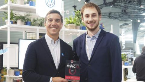 Premio Volkswagen Coche Conectado MWC 2019