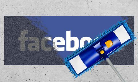Limpieza de imagen de Facebook