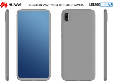 Huawei deslizable