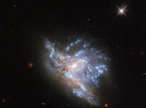 Choque de galaxias