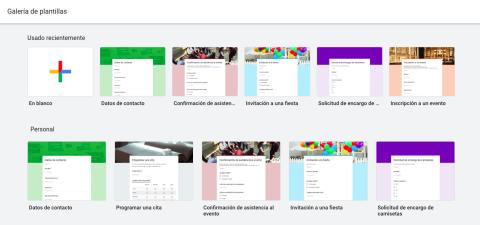 Formularios Google Drive