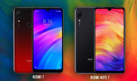 REDMI 7 VS REDMI NOTE 7