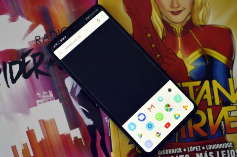 Launcher minimalista Android