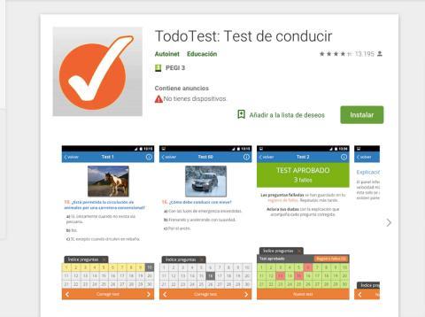 App test conducir