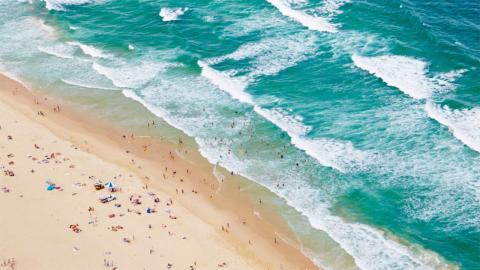 Playa australiana