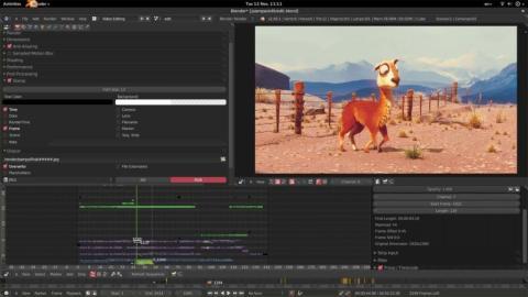 Blender editor de vídeo