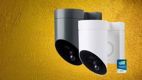 Asegura tu hogar con la nueva cámara de seguridad para exteriores Somfy Outdoor Camera
