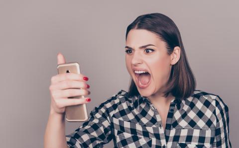 Llamando por el smartphone