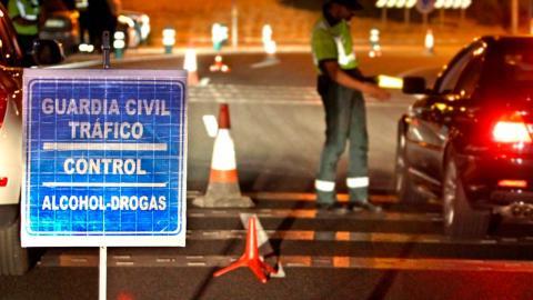 Control alcohol y drogas Guardia Civil